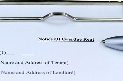 rent arrears notice
