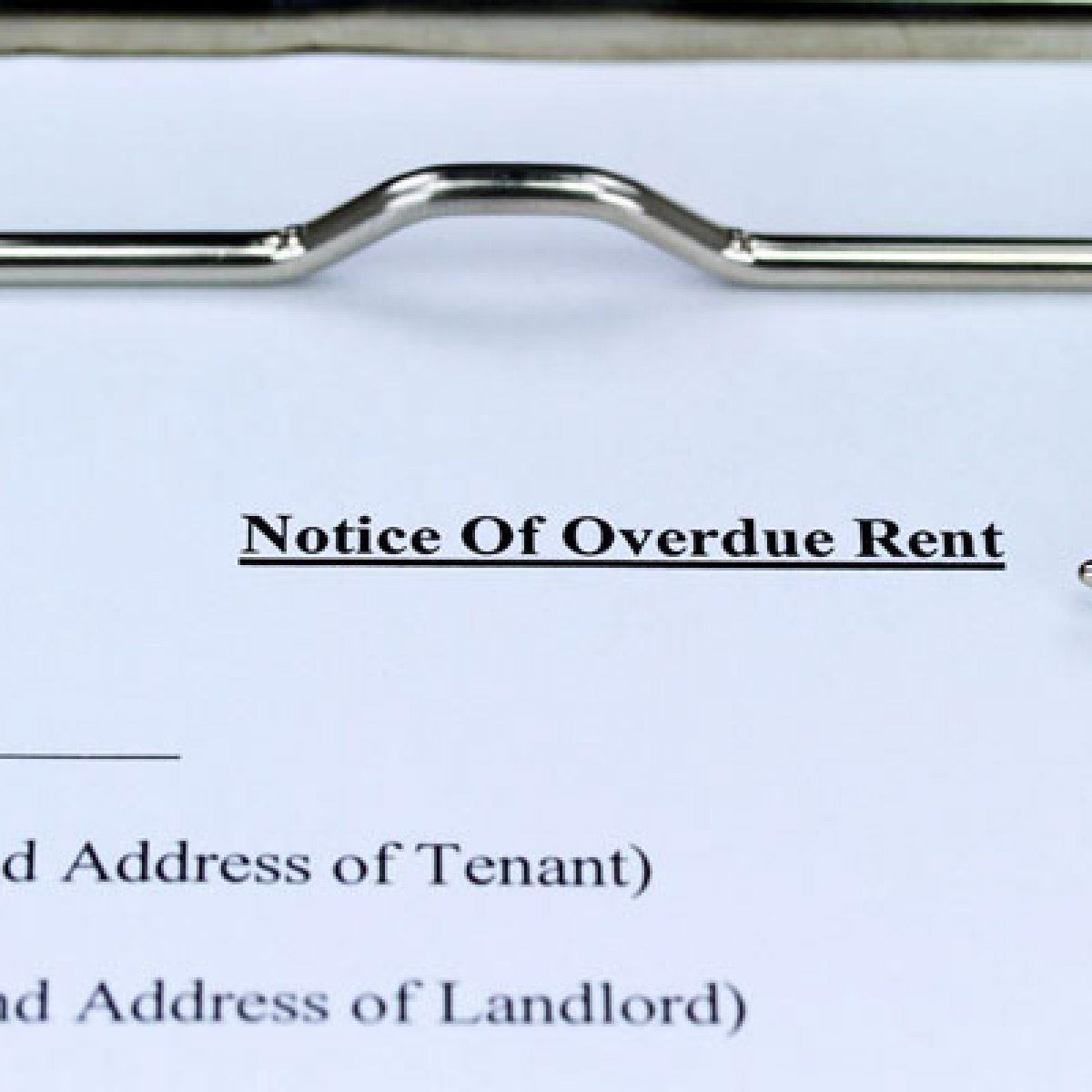 Rent arrears putting landlords under pressure