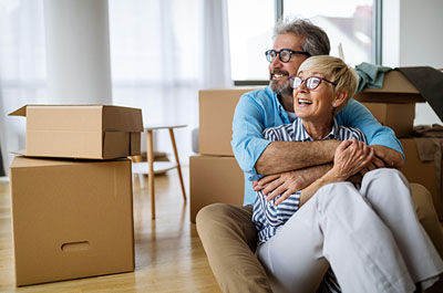 Happy couple after learning how to sell a house