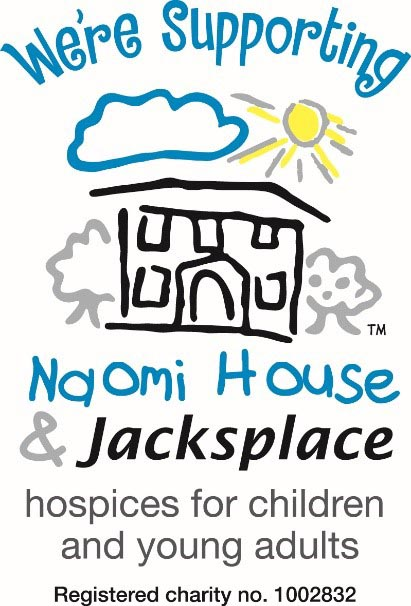We're supporting Naomi House & Jacksplace hospices for children and young adults