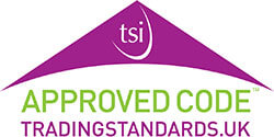tsi approved code trading standards logo